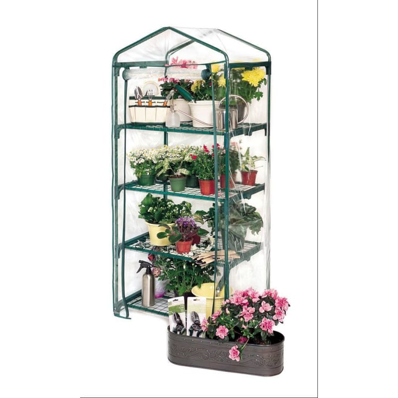 4 TIER GREENHOUSE GROWING RACK REPLACEMENT COVER