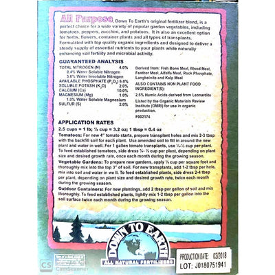 All-Purpose Fertilizer Mix - Gardening Supplies