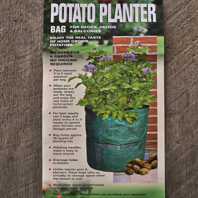 Bosmere Potato Planter Bag (1 bag) - Supplies