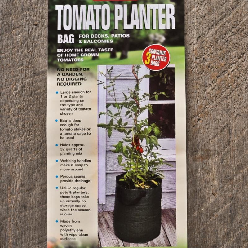 Bosmere Tomato Planter Bags (3 bags) - Supplies