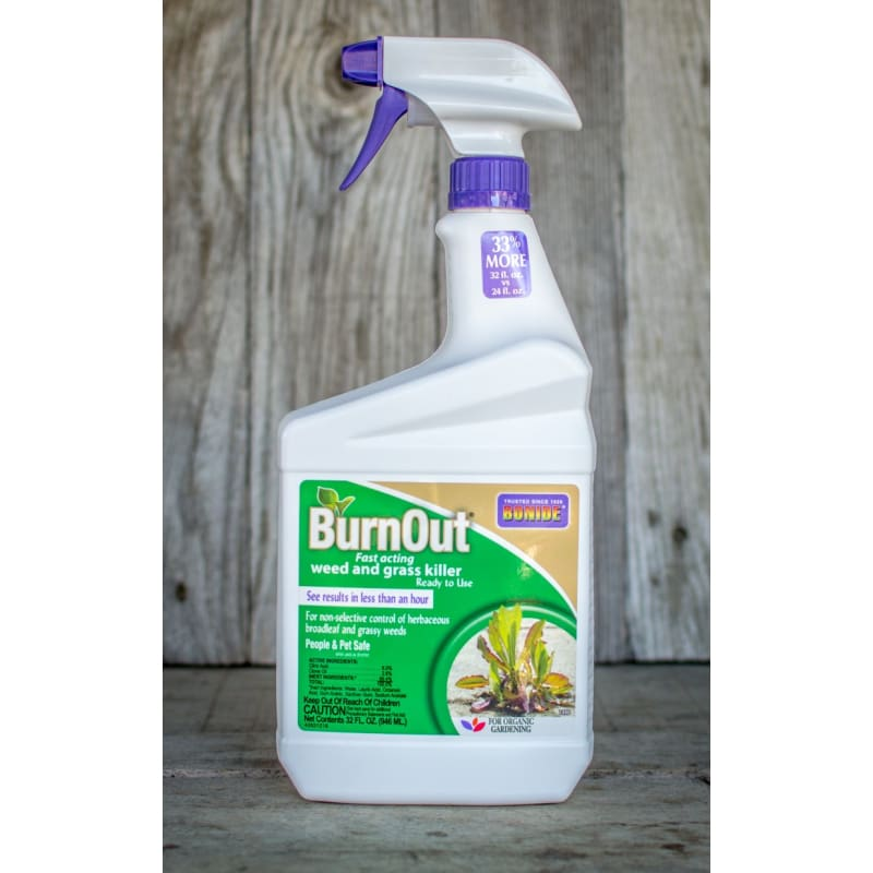 BurnOut Weed & Grass Killer 32 oz. RTU