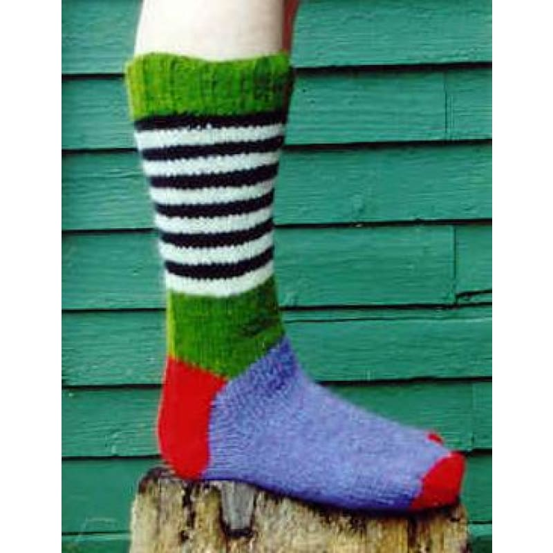 Classic Wool Sock Pattern - Knitting