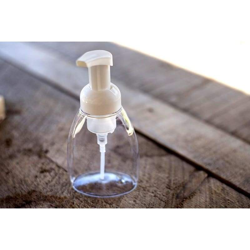 Clear Foaming Pump Bottle (8.5 oz)