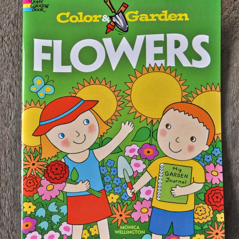 Color & Garden Flowers - Books