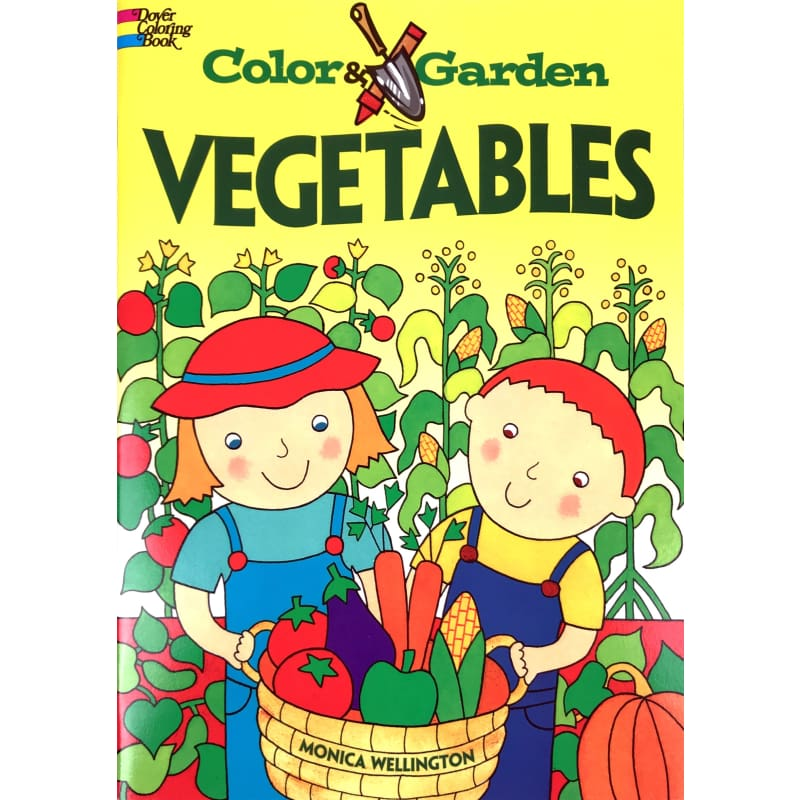 Color & Garden Vegetables - Books