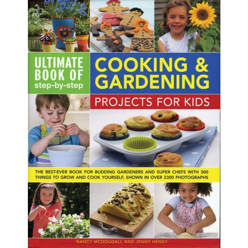 Cooking & Gardening Projects For Kids - Books
