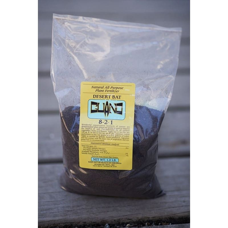 Desert Bat Guano (1 Lb) - Supplies