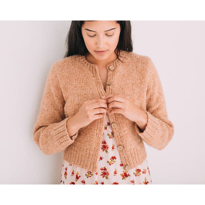 Farmstead Sassy Cardigan Pattern - Knitting