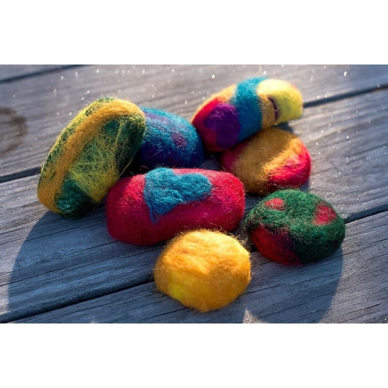 Felted Wool Soap Bar Project - Crafts