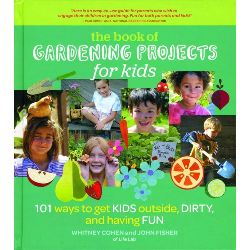 Gardening Projects For Kids - Books