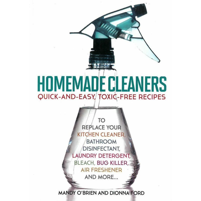 Homemade Cleaners - Books