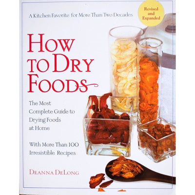 HOW TO DRY FOODS (Discontinued) - Books