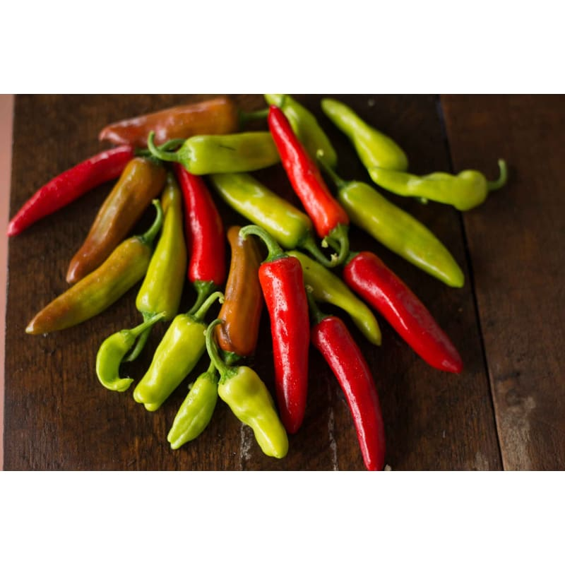 Italian Pepperoncini Pepper (75 Days) - Vegetables