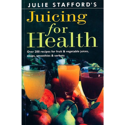 JUICING FOR HEALTH - Books