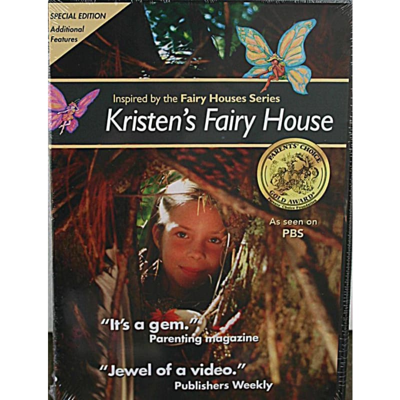 Kristens Fairy House (Dvd) - Books