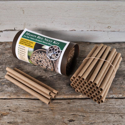 Mason Bee Nest Replacement Tubes (50 pack) - Crafts,Supplies