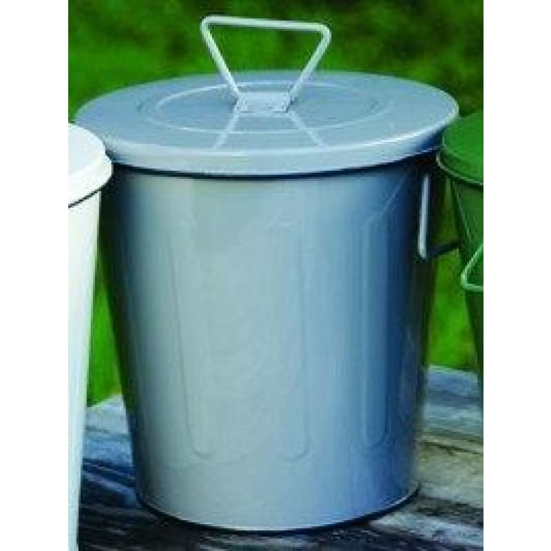 Metal Compost Bin - Gray