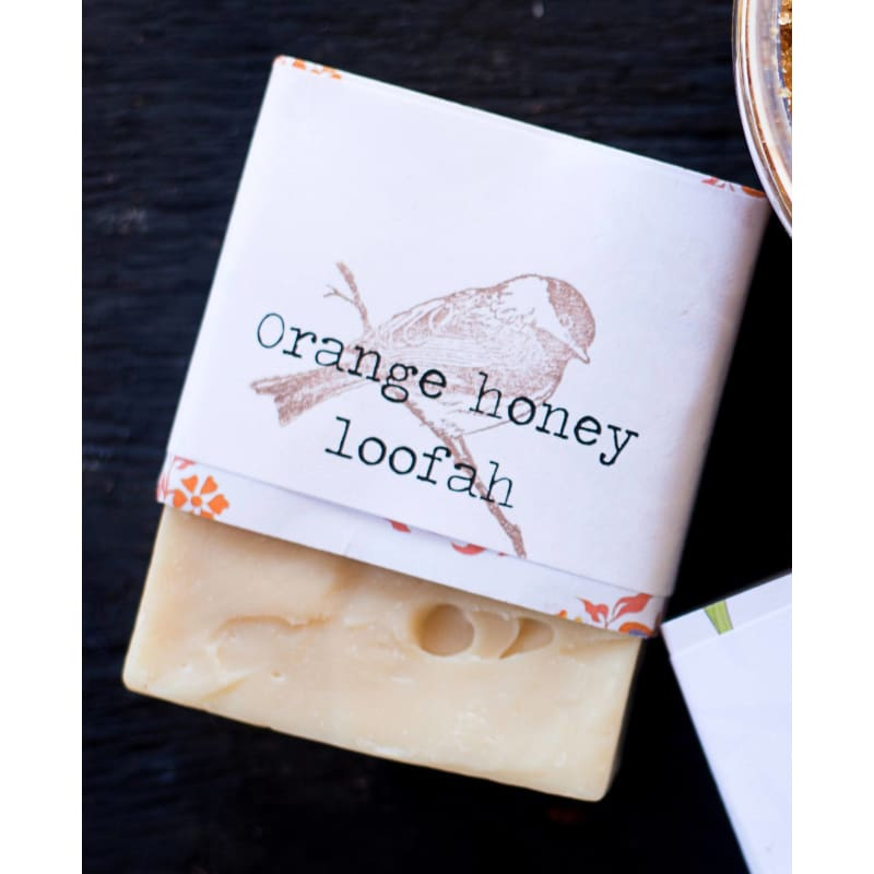 Orange-Honey Loofah Soap