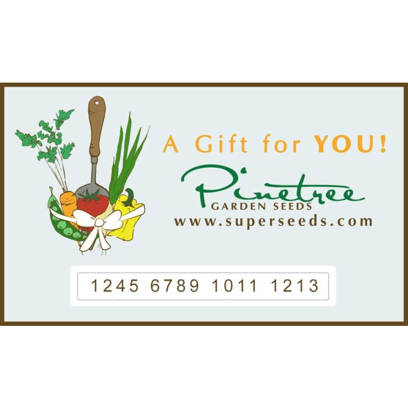 Pinetree Gift Card ( Email )