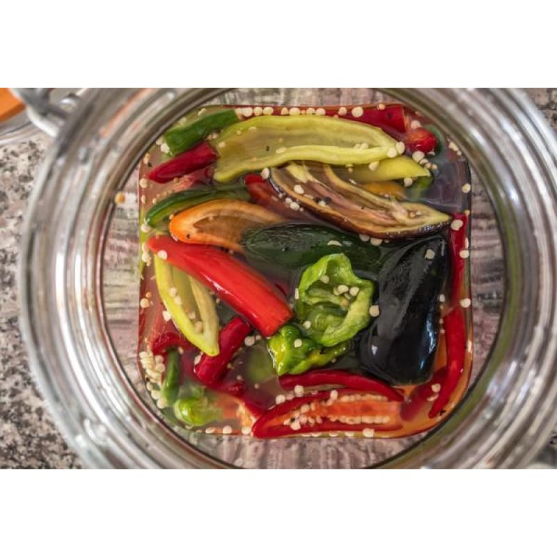 Pinetree Hot Pepper Mix (66-90 Days) - Vegetables