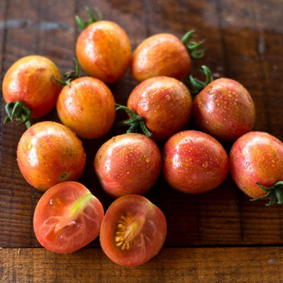Pink Bumble Bee Tomato (Organic 70 Days) - Vegetables