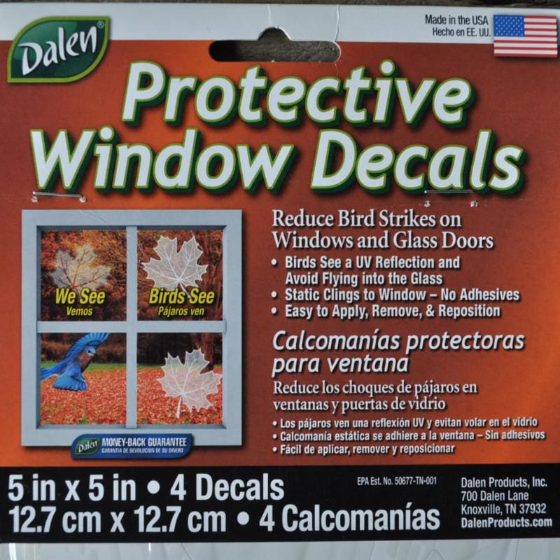 Protective Window Decals (4 pack) - Supplies