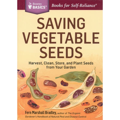 Saving Vegetable Seeds - Books