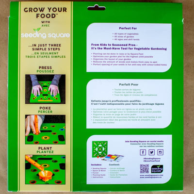 Seeding Square - Supplies