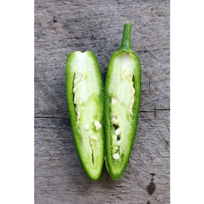 Serrano Hot Pepper (Heirloom 75 Days) - Vegetables