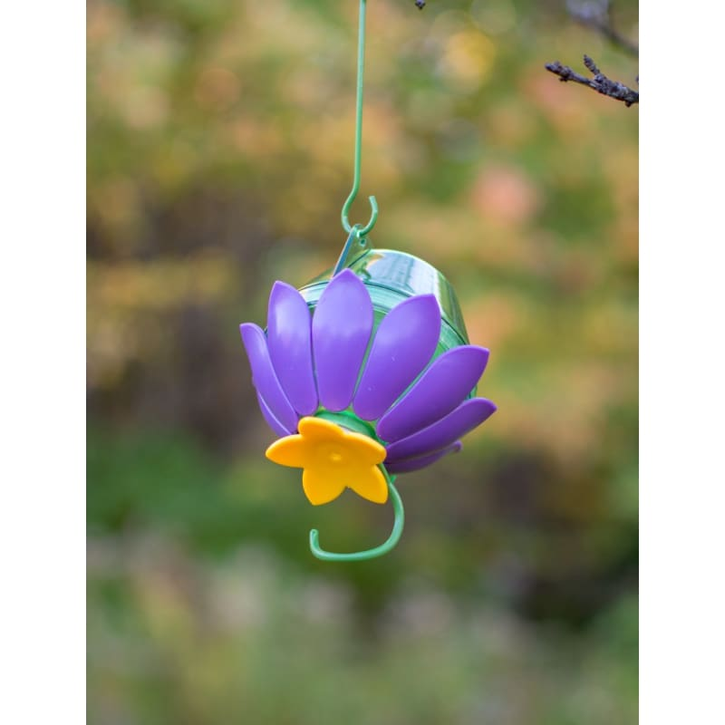 So Real Hummingbird Feeder - Purple (Discontinued)