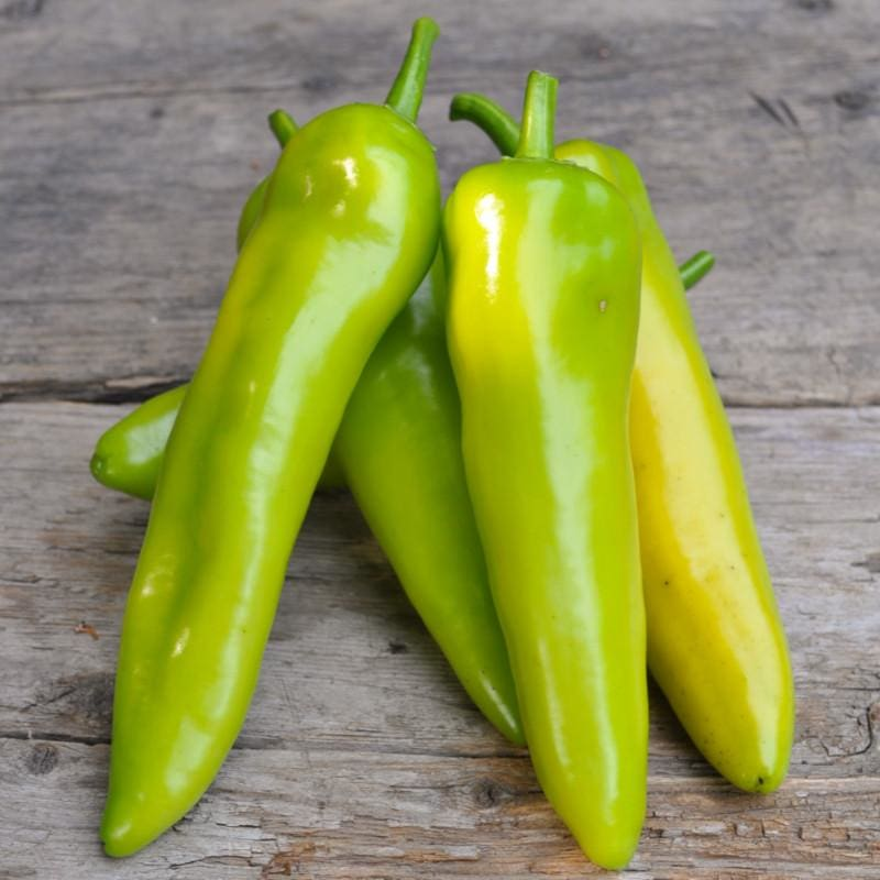 Sweet Banana Pepper (Heirloom 72 Days) - Vegetables