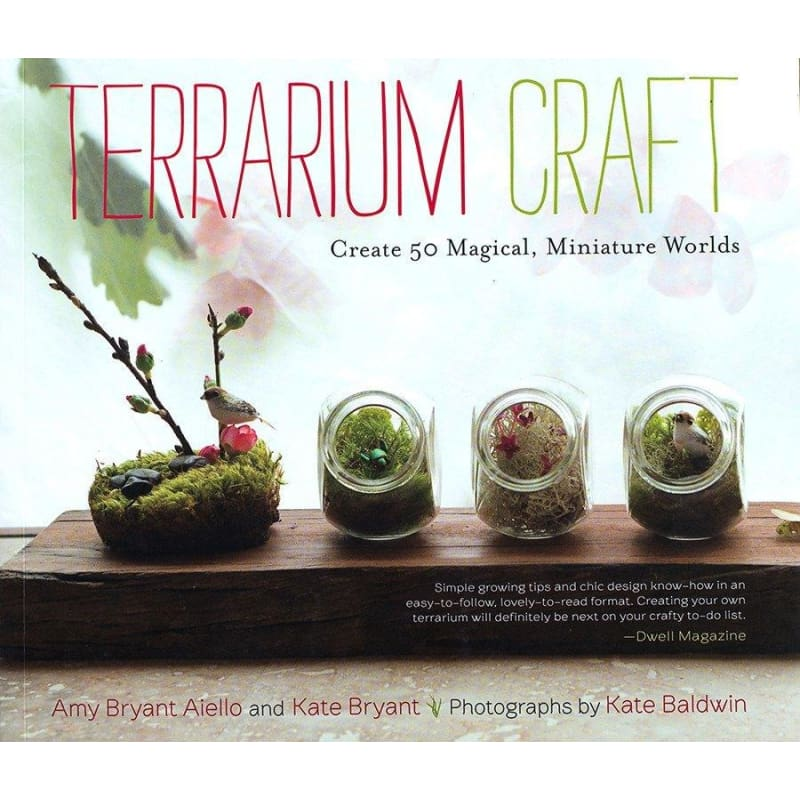 TERRARIUM CRAFT - Books