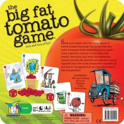 The Big Fat Tomato Game - Books