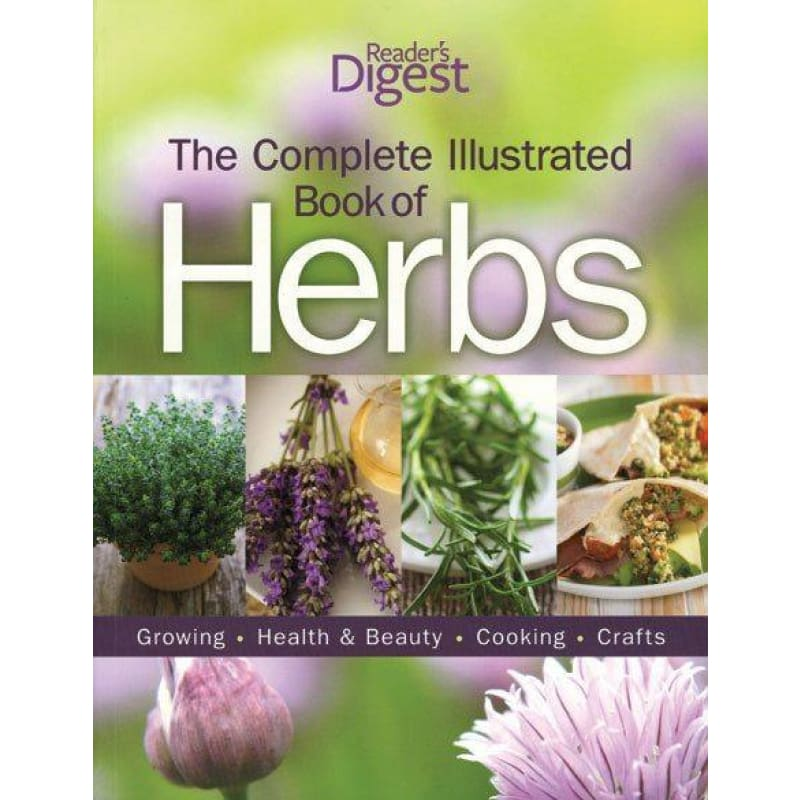The Complete Illustrated Book Of Herbs - Books