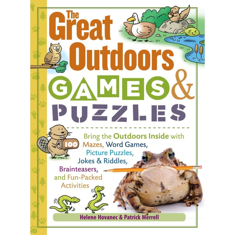 The Great Outdoors Games & Puzzles - Books