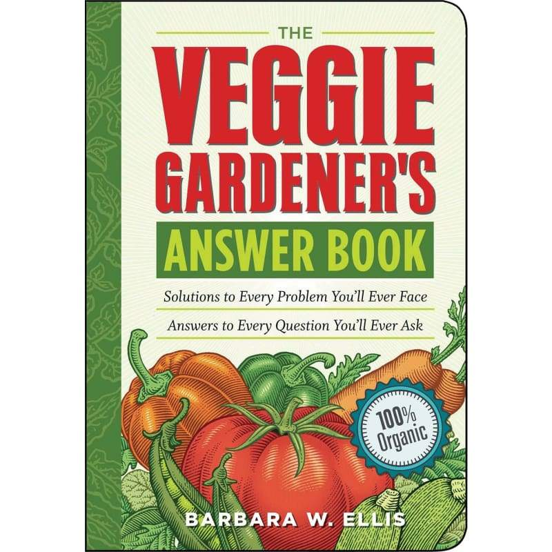 The Veggie Gardener's Answer Book - Books