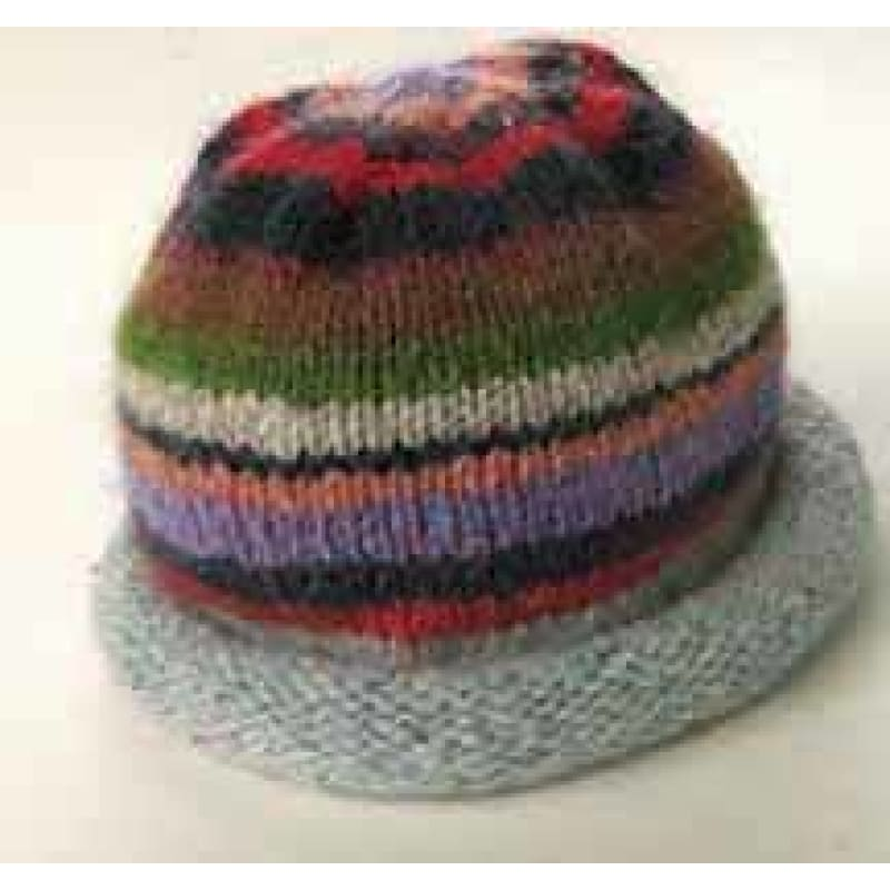 Tribal Mountain Hat Pattern - Knitting