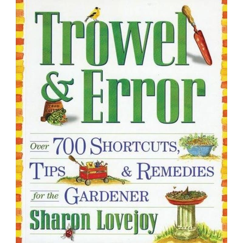 Trowel & Error - Books