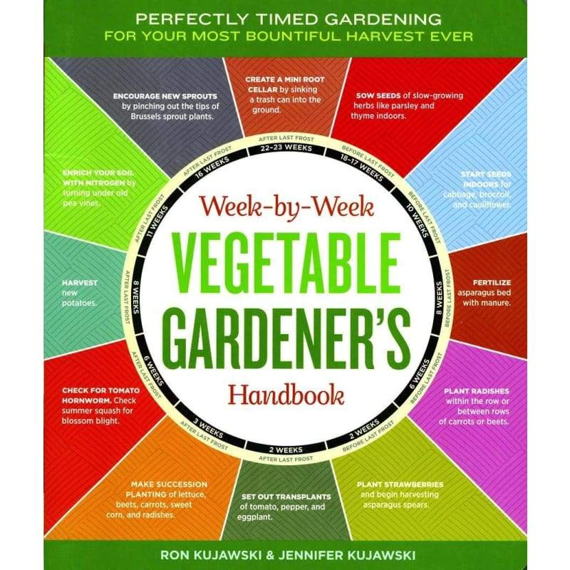Week-by-Week Vegetable Gardeners Handbook ***Sold Out*** - Books