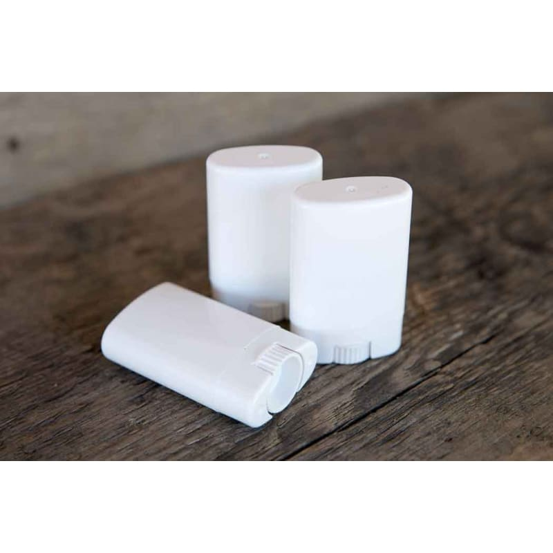 White Oval Balm Tubes (set of 3) - Crafts