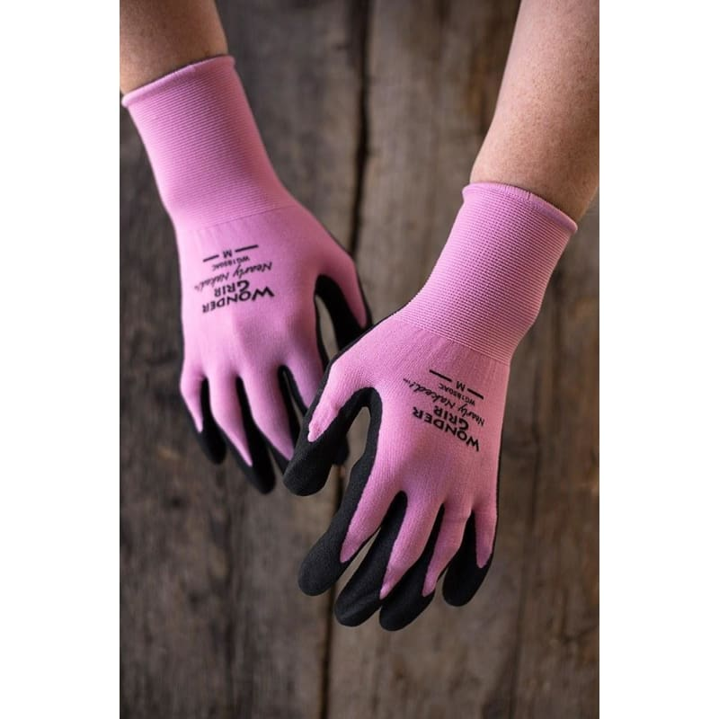 Wonder Grip Nearly Naked Assorted Colors Gloves Small