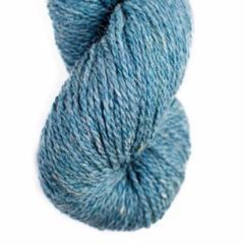 Worsted Wool Yarn - Volgassippi Blue