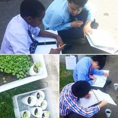 Pinetree Garden Seeds Donated Seeds to Covenant Preparatory School