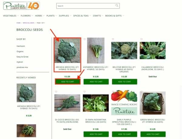How to Order Pinetree Garden Seeds Online (Tutorial)