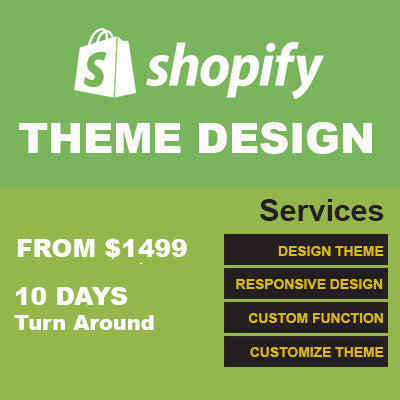 Shopify Theme Design