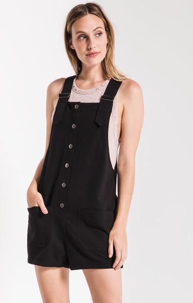 The Button Front Overalls