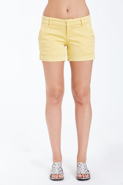 Dear John Hampton Shorts- Mellow Yellow