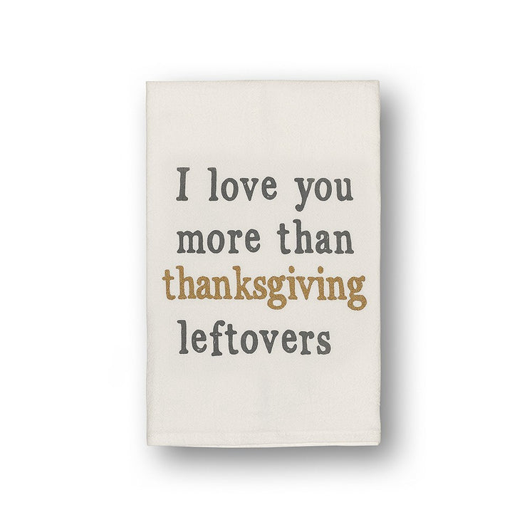 Leftovers Tea Towel