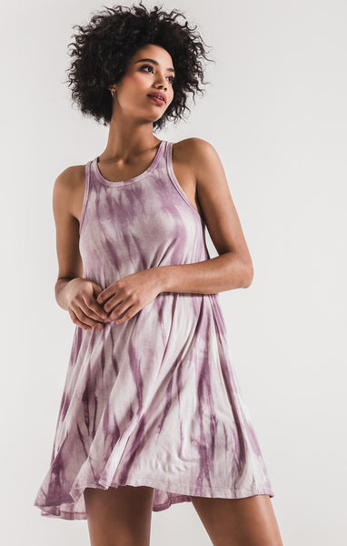 The Tie Dye High Neck Dress