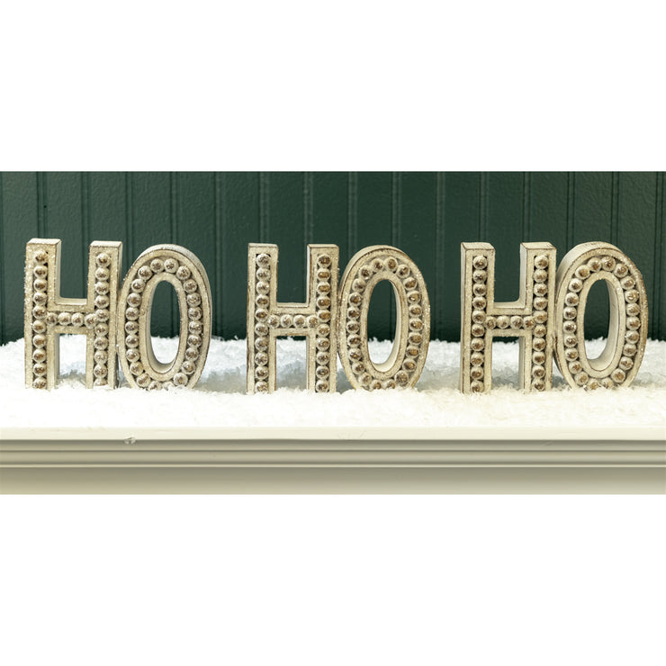 Ho Ho Ho Bead Design Block
